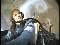Aerobatics view from Helmet Camera